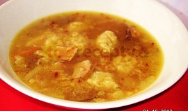 Kudrbánková polévka