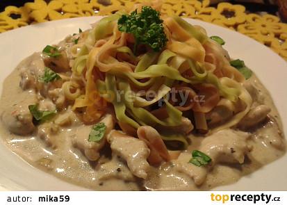 Kuřecí prsíčka s Nivou - za 10 min hotová večeře