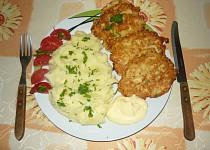Květákové placičky s bramborami