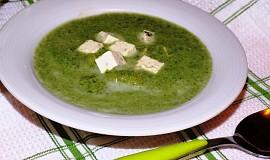 Mangoldová ( špenátová ) polévka s tofu