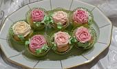 Muffiny s růží