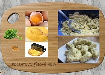 Polentovo-sýrové noky
