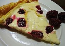 Polentový koláč s tvarohem