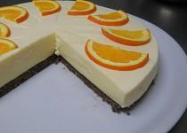 Pomerančový cheesecake
