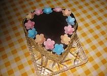 Pomerančový dortík s mascarpone krémem