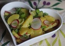 Předjarní bramborový salát