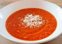 Rajčatová polévka - zimní s jáhlami