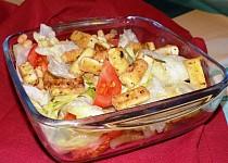 Salát s křupavým tofu
