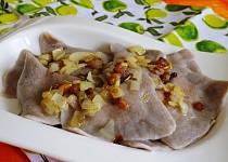 Tatarčené pirohy (pohankové pirohy)