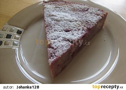 Tvarohovo-malinový koláč