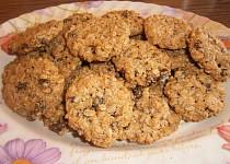 Výborné sušenky z ovesných vloček