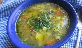 Zeleninová polévka s kari a zázvorem