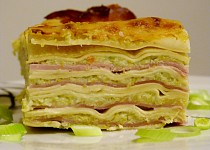 Brokolicové lasagne