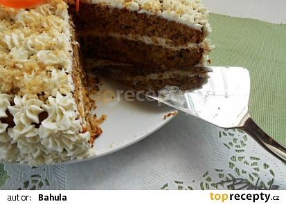 Carrotcake neboli mrkvový dort