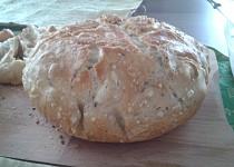 Domácí chleba v troubě podle Ládi Hrušky (s časovou úpravou - méně práce)