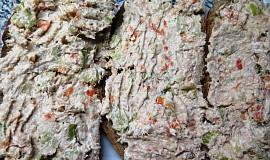Košťálovo-mrkvová pomazánka