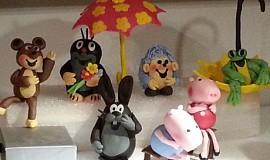 Krtek a kamarádi, prasátko Peppa, Vlk a zajíc, Pat a Mat
