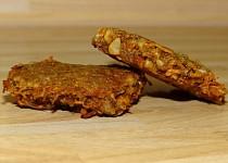Mrkvovo - ořechové placičky