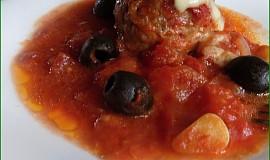 Polokoule z mletého masa po italsku