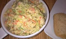 Pomazánka z košťálu brokolice, mrkve a tresky