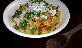 Rýžové vločky s bramborami - Batata Pohe
