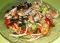Salát s rajčatovou zálivkou