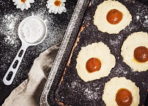 Velikonoční kynutý koláč a la volské oko