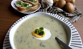 Bramborovo-česneková krémová polévka