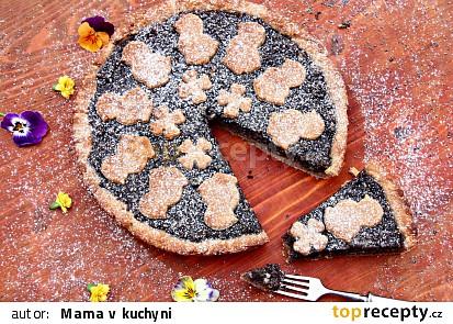 Celozrnný makový koláč