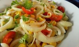 Cibulový míchaný salát