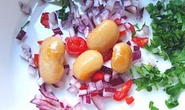 Fazolový salát základní