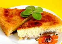 Francouzský hruškový koláč