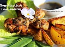Limetkové kuře s koriandrem