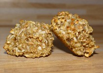 Ovesné dietní müsli sušenky s jablkem