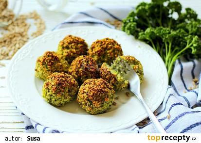 Brokolicovo-parmezánové kuličky