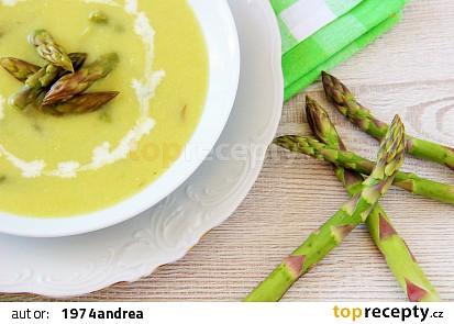 Chřestová polévka s pórkem