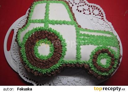 Dort - zelený traktůrek