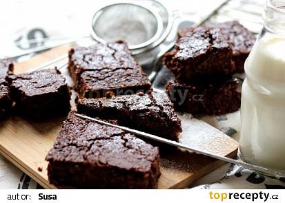 Květákové brownies