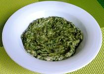 Špenát ve sladké polevě - glazovaný