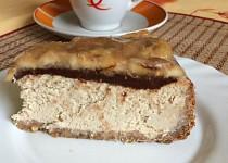 Banánový cheesecake s čokoládou