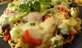 Omeleta z těstovin