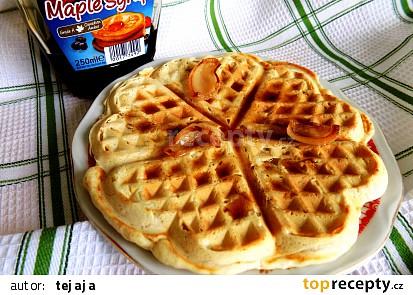 Slaninové wafle