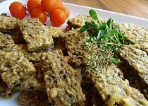 Sýrové řezy z quinoy a čočky