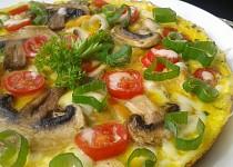 Žampionovo-kuřecí omeleta