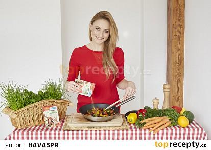 Filet z tmavé tresky na grilované zelenině