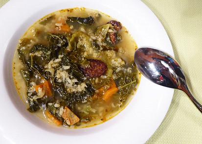 Kapustová polévka | Portugalská inspirace