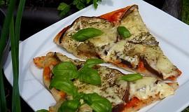 Lilková pizza s prefermentem