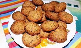 Makové sušenky s javorovým sirupem