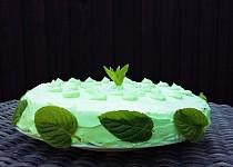 Mátový dort
