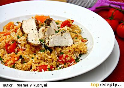 Bulgur s grilovanou zeleninou